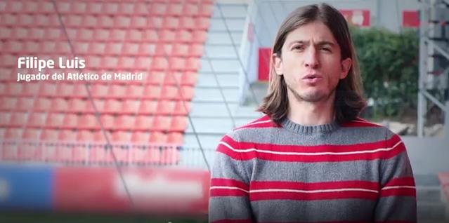 Filipe Luis y la Fundación Atlético de Madrid</b>